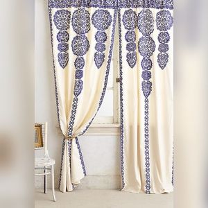 Anthropologie Marrakech Curtains 2 Panel